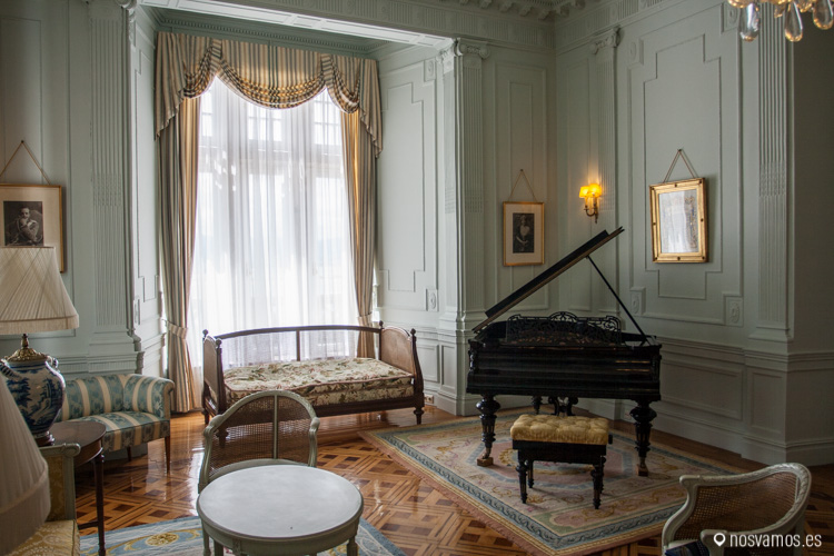 Sala de la Reina del Palacio de la Magdalena