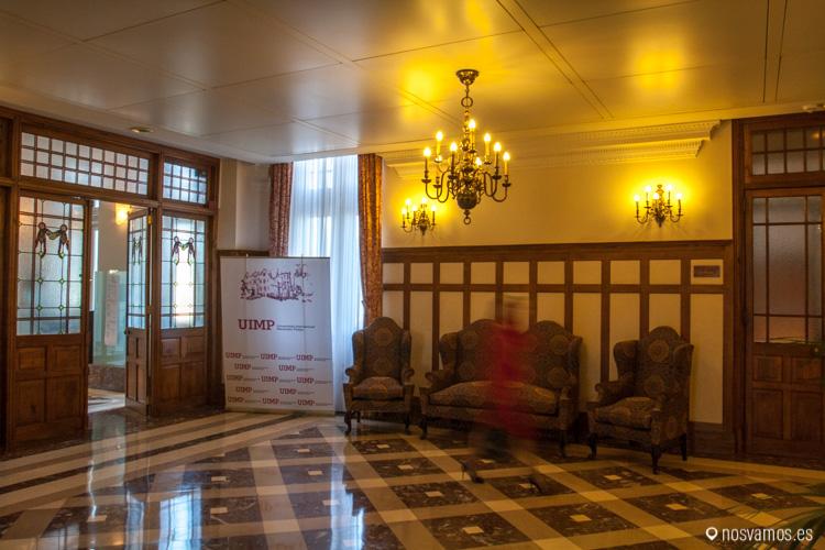 Entrada de visitas del Palacio de la Magdalena