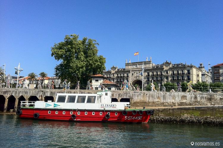 """Antiguas """"reginas"""" rojas, actualmente los bascos son mucho más modernos."""