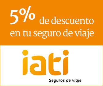Seguro de viajes, 5% de descuento