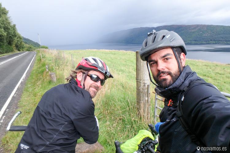 en bici desde Fort William a Inverness