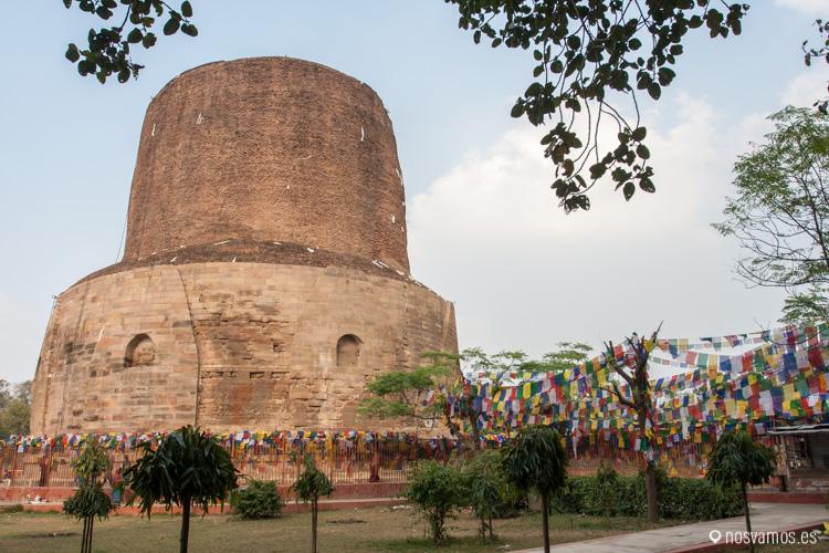 Estupa Dhamek en Sarnath