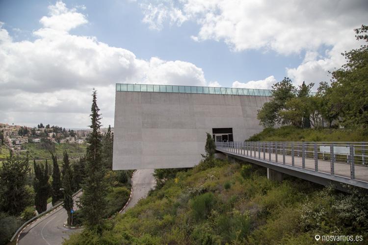 Entrada principal al Museo del holocausto, Jerusalén