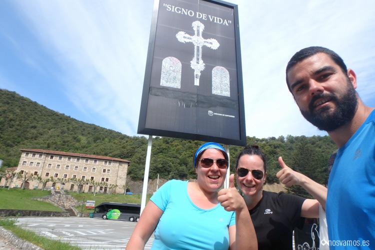 Llegada al Monasterios de Santo Toribio de Liébana